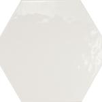 Hexatile Blanco Glossy
