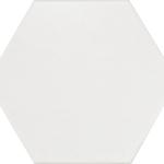 Hexatile Blanco Matte