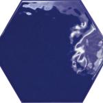 Hexatile Cobalto Glossy