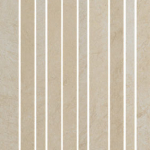 Level Beige Strip Mosaic
